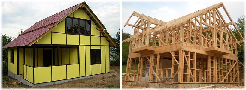Проекты каркасно-щитовых домов своими руками