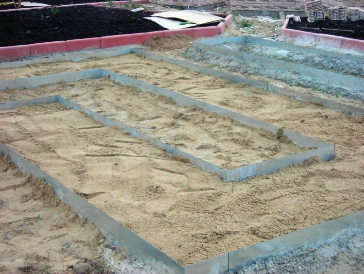 бетонная дорожка на даче своими руками фото 3