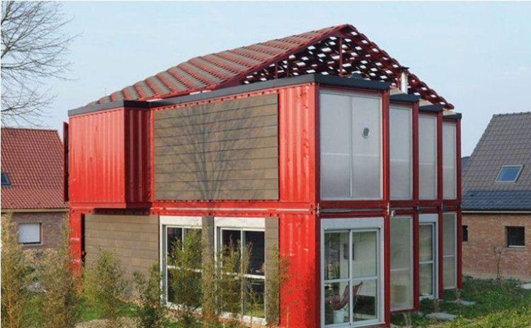 Модульные дома из контейнеров фото