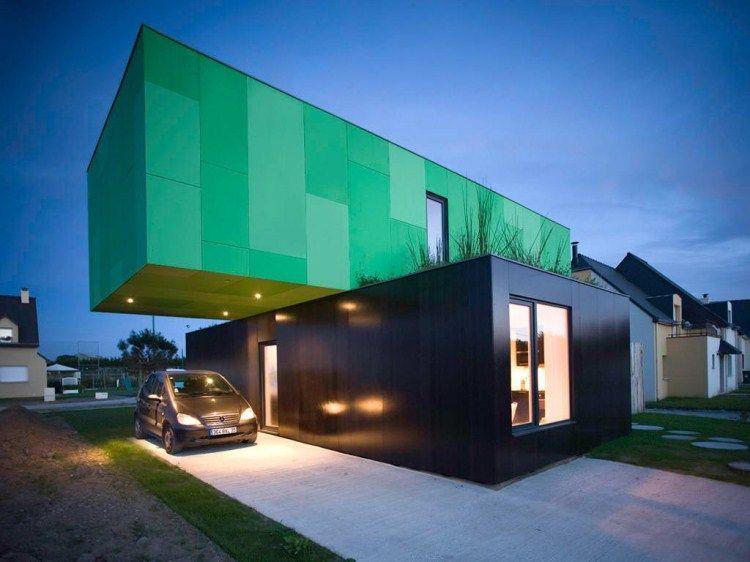 Красивые дома из контейнеров фото