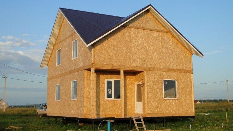 дом из сип панелей фото