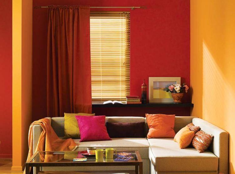 Интерьерная краска для стен фото