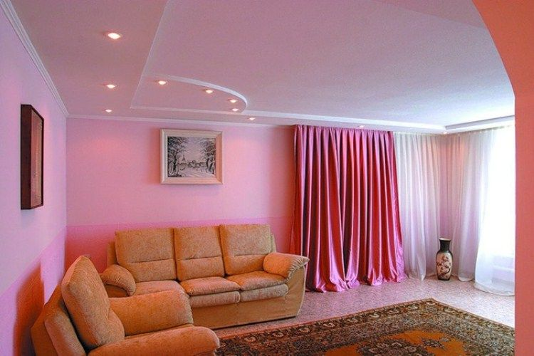 краска для стен в квартире фото 8