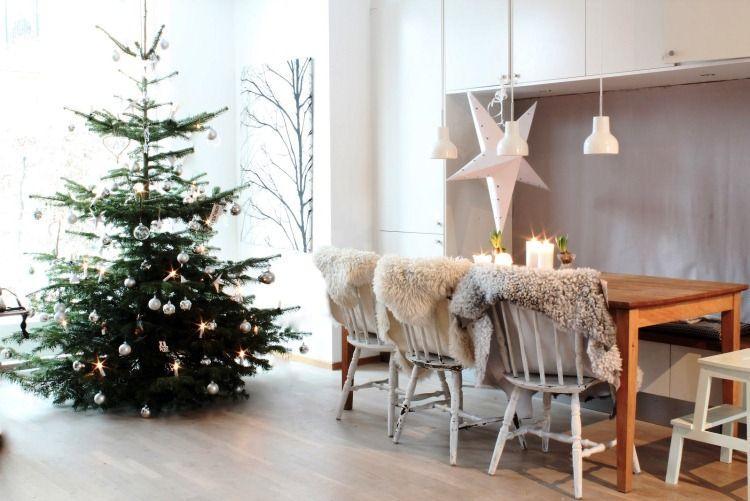 Новогодний интерьер квартиры фото