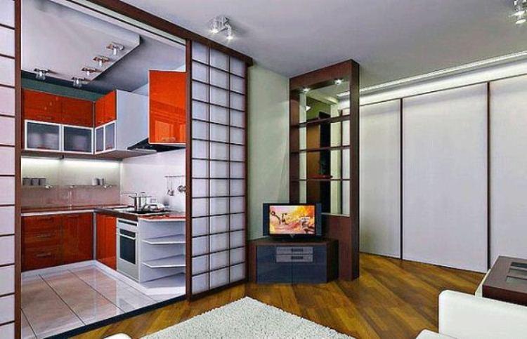 комнаты с перегородками фото