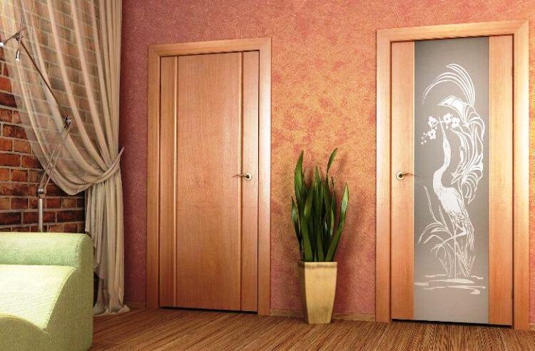 межкомнатные двери фото 8