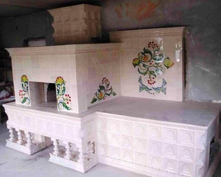 печь в деревянном доме фото 2