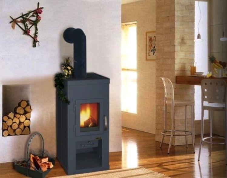 печь в деревянном доме фото 5