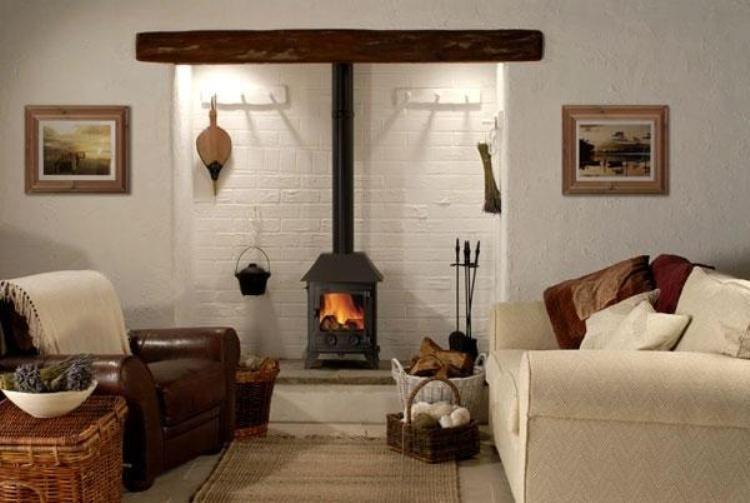 печь в деревянном доме фото 6