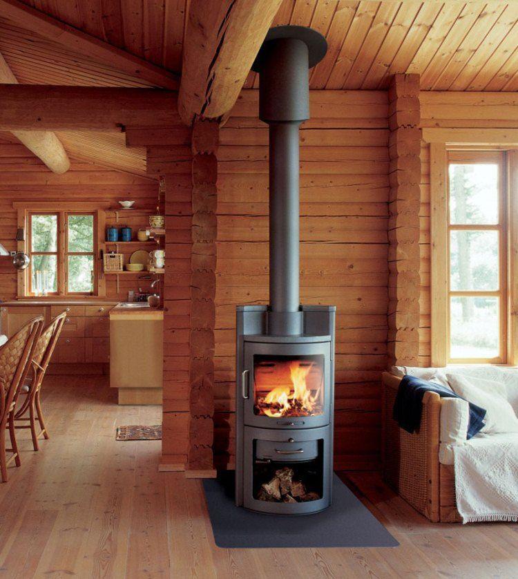 печь в деревянном доме фото 8