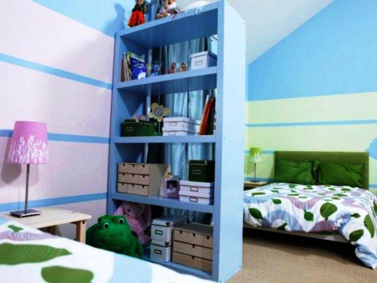 перегородки в детской комнате для зонирования фото