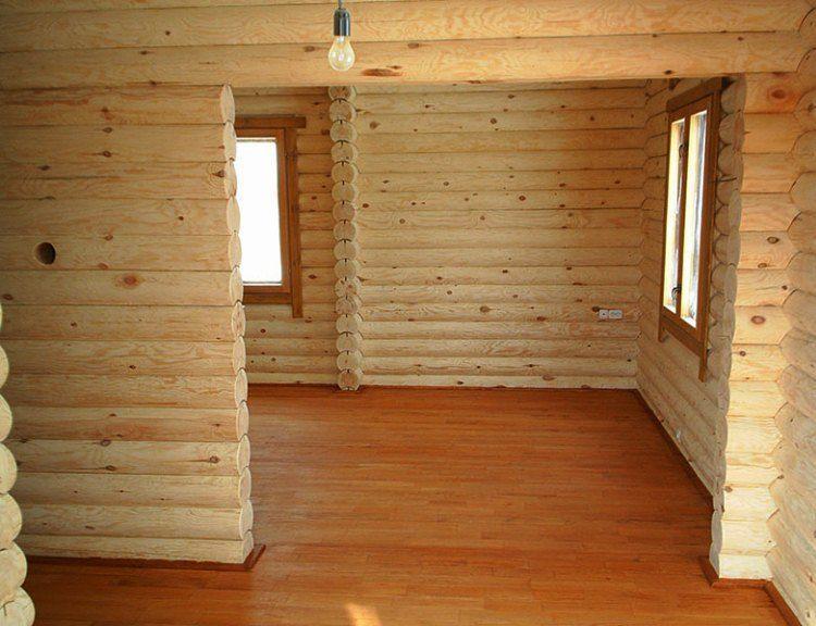 строительство деревянного дома фото 3