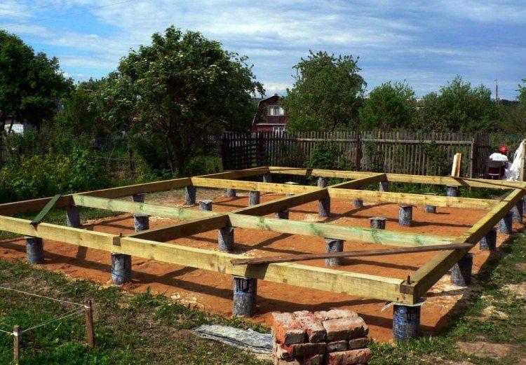 строительство деревянного дома фото 5