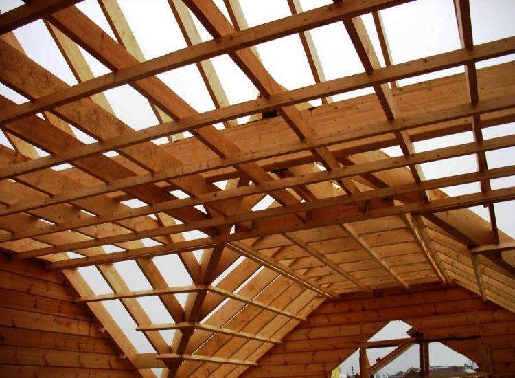 строительство деревянного дома фото 6