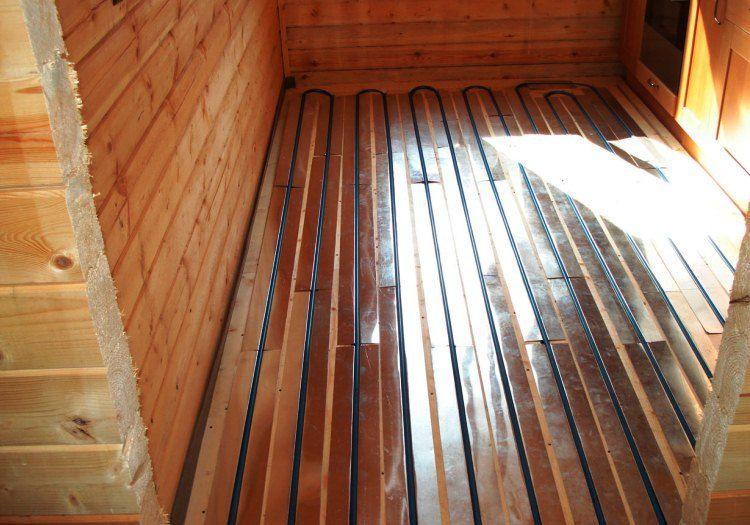 строительство деревянного дома фото 8