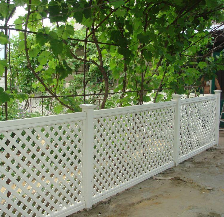 забор для дачного участка фото