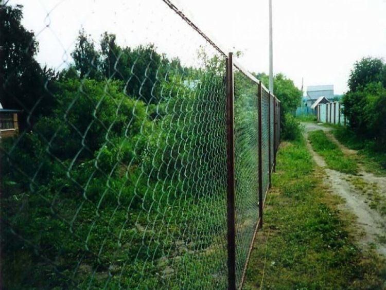 забор своими руками недорого фото