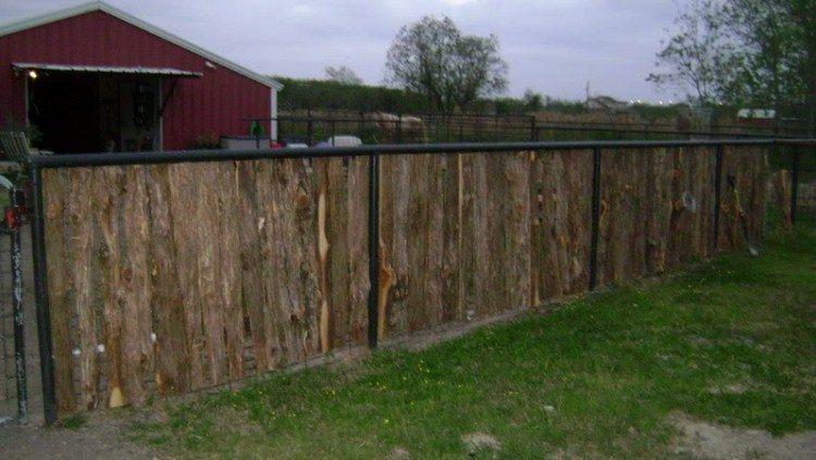 забор на даче фото