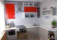 фото кухонных гарнитуров круговых для небольшой кухни