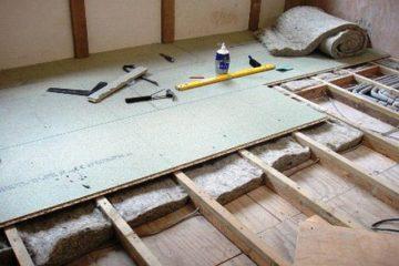 как утеплить полы в деревянном доме