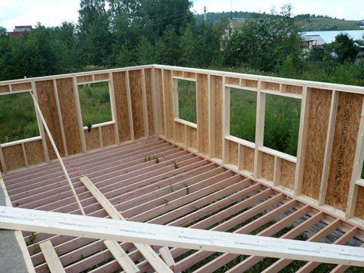 Строительство каркасного домов своими руками фото 863