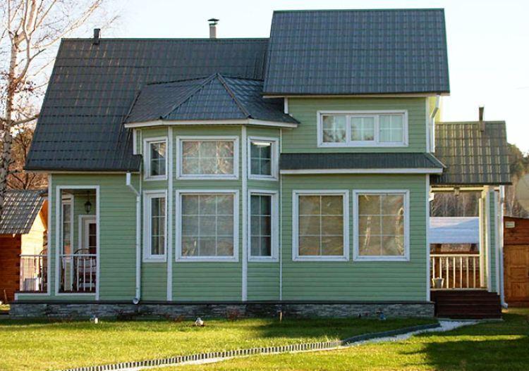 каркасно щитовой дом фото 8