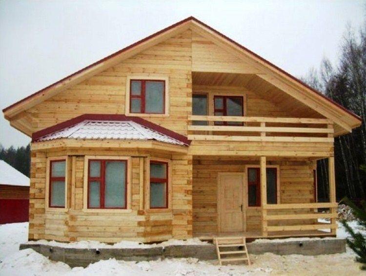 каркасно щитовой дом фото