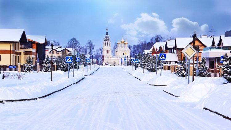 коттеджный поселок пестово фото