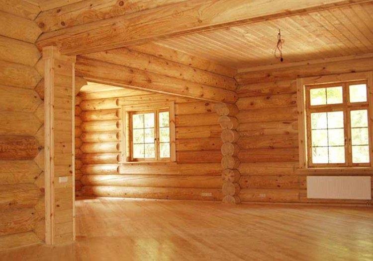 утепление деревянного дома изнутри фото