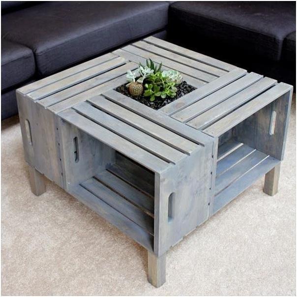 мебель из ящиков фото