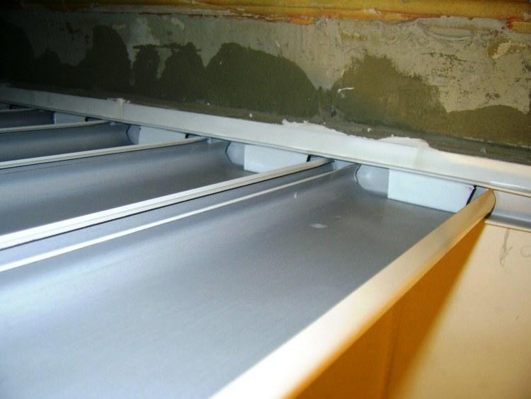реечный потолок в ванной комнате фото 5