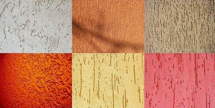 цвета штукатурки короед фото