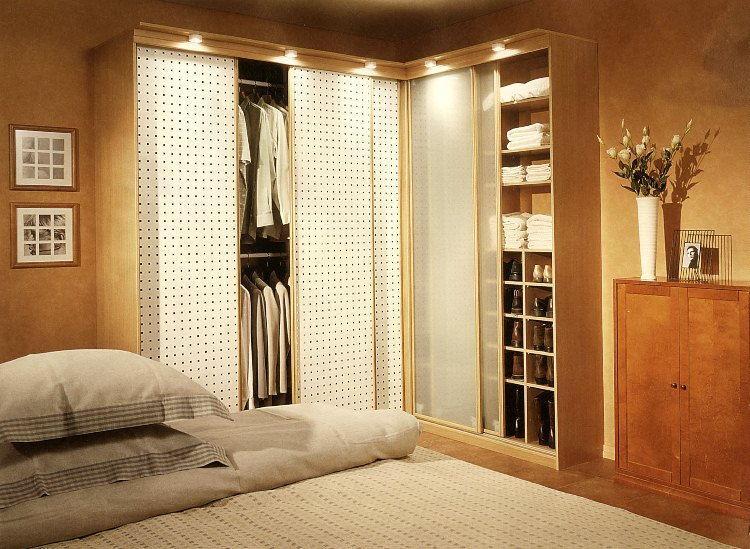 шкафы для спальни в современном стиле фото