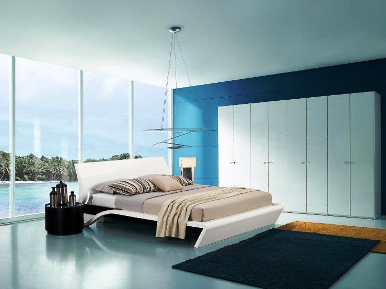 современные спальни фото