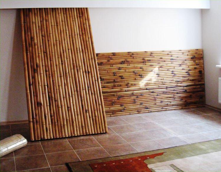 Бамбуковые стеновые панели
