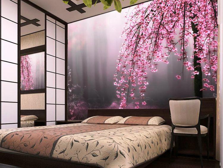 фотообои расширяющие пространство для спальни