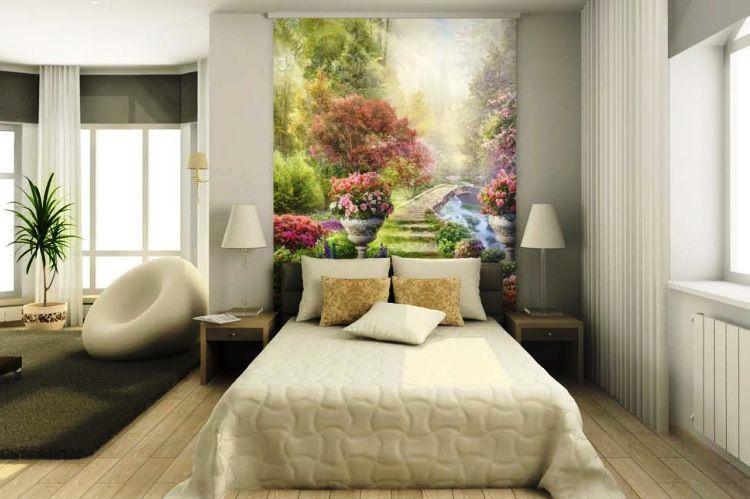 фотообои в спальне фото