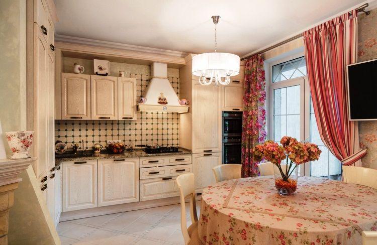 красивые шторы на кухню фото 10