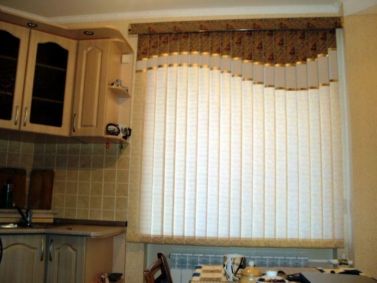 красивые шторы на кухню фото 15