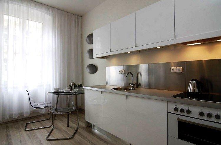 Красивая тюль на кухню фото