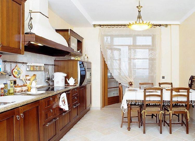 Как сшить красивые шторы на кухню фото