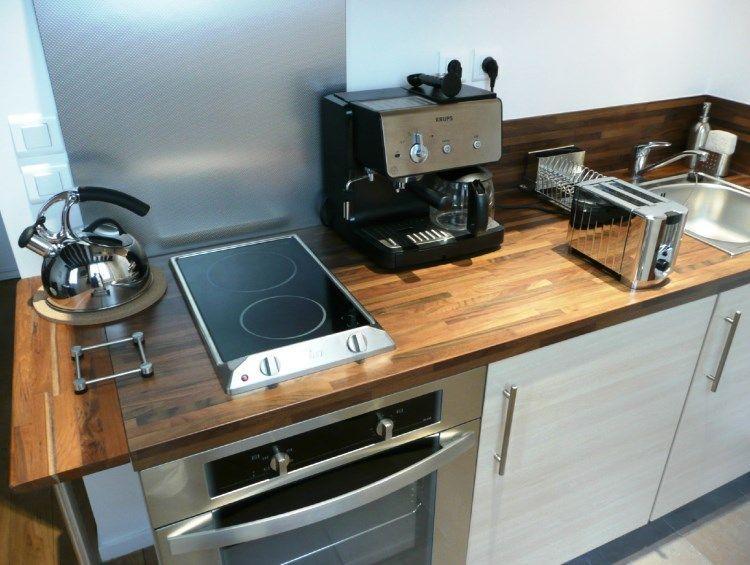 линейная кухня фото 7