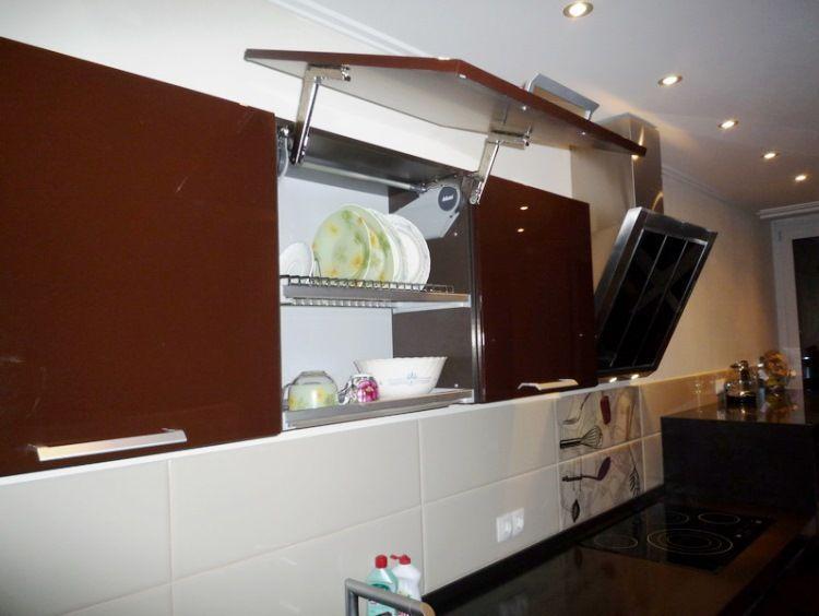 линейная кухня фото 8