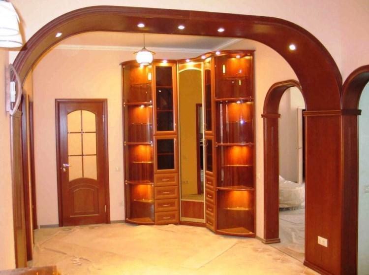 арка в зал дизайн фото