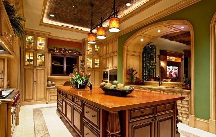 Межкомнатные арки на кухню фото