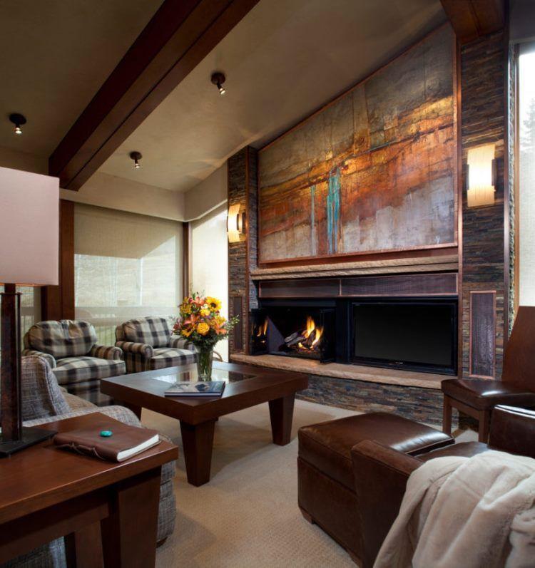 фрески в интерьере гостиной фото 10