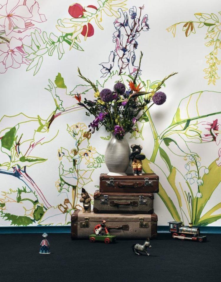 фрески в интерьере гостиной фото 18