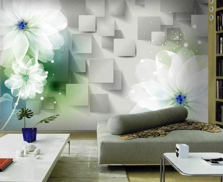 фрески в интерьере гостиной фото 21