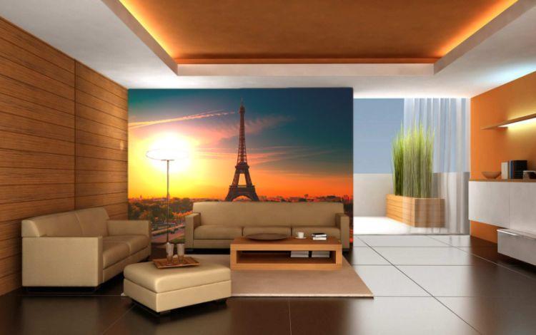 фрески в интерьере гостиной фото 5