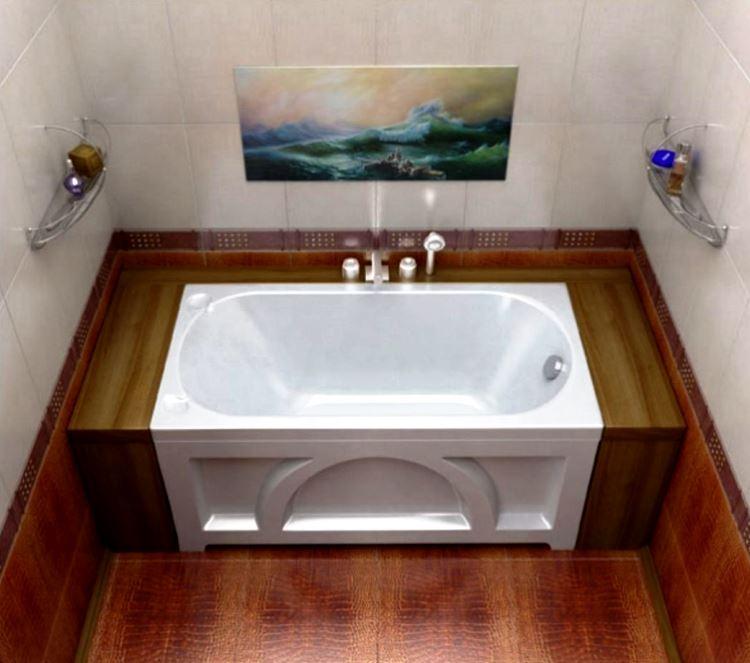маленькая угловая ванна в ванной комнате фото 14